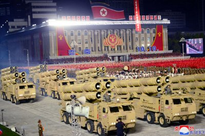 Report: Missiles fired by North Korea may have been displayed at parade