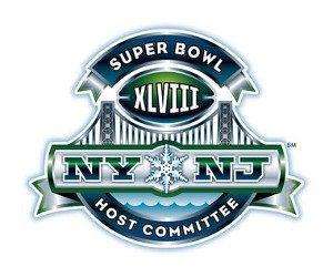 Snow forecast for Super Bowl XLVIII logo
