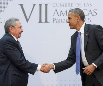 Obama optimistic for Cuba relations, Castro recalls past confrontations with U.S.