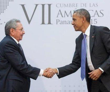 Obama optimistic for Cuba relations, Castro recalls past confrontations with U.S.