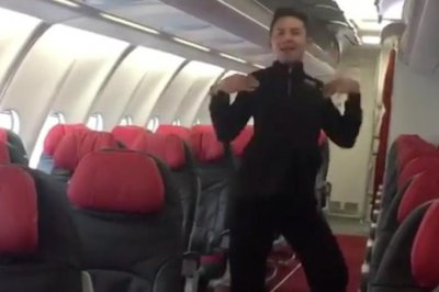 AirAsia flight attendant recreates Britney Spears' 'Toxic' video