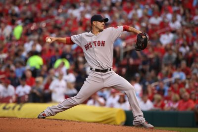 Boston Red Sox back Rick Porcello, crush St. Louis Cardinals with eight-run fifth