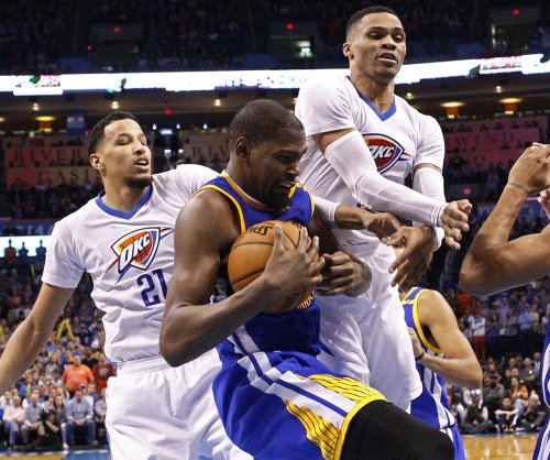 Golden State Warriors' Kevin Durant indifferent about playing Russell Westbrook, Thunder