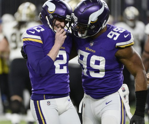 Minnesota Vikings re-sign K Forbath, two others