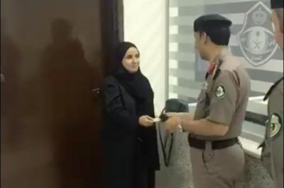 Saudi authorities issue first driver's license to woman