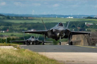 Air Force F-35A squadron from Utah deploys to Germany