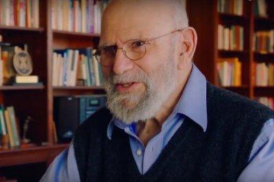 The late Oliver Sacks shows off science socks in doc clip