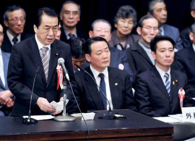 Japanese PM Naoto Kan resigns