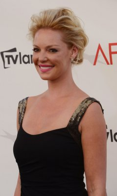 Katherine Heigl filming 'Your Right Mind'