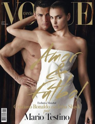 Cristiano Ronaldo covers Vogue Spain in the nude