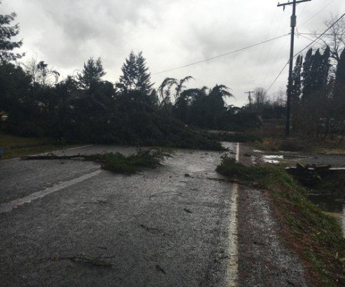 Rare winter tornado damages homes in Washington state