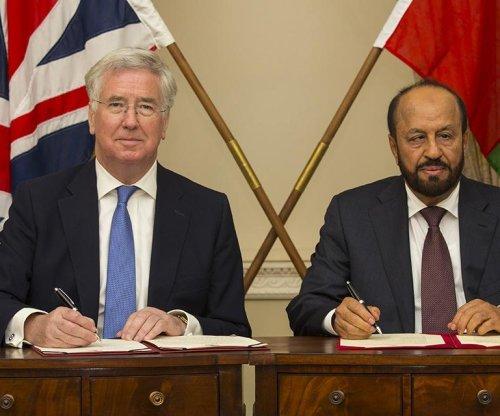U.K. to increase Oman training aid