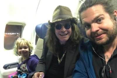 Jack Osbourne posts photo with dad Ozzy, daughter Pearl