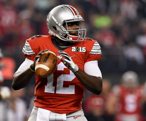 Ohio State's Urban Meyer says J.T. Barrett, Cardale Jones both may play in Buckeyes' opener