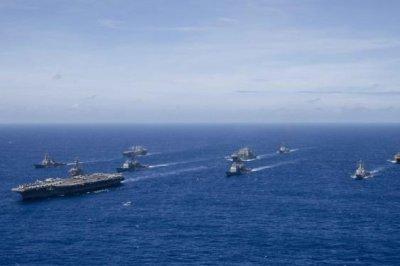Ronald Reagan carrier strike group ports in Hong Kong amid China tensions