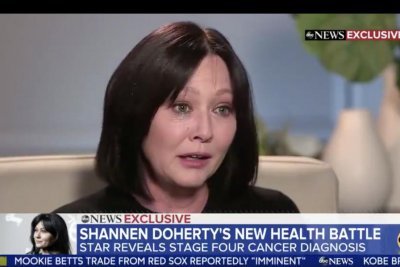 Shannen Doherty says breast cancer is back: 'I'm stage 4'