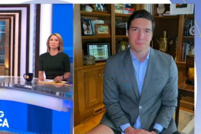 Reporter caught not wearing pants during live broadcast