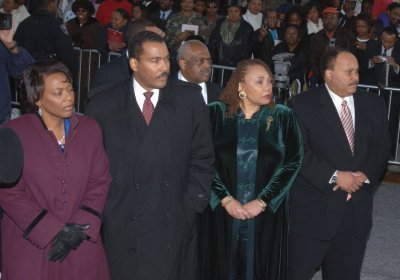 Legal stall in MLK family financial feud