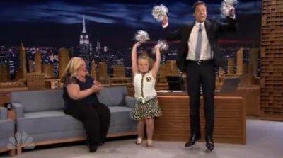 Honey Boo Boo, Jimmy Fallon perform cheerleader routine on 'Tonight Show'