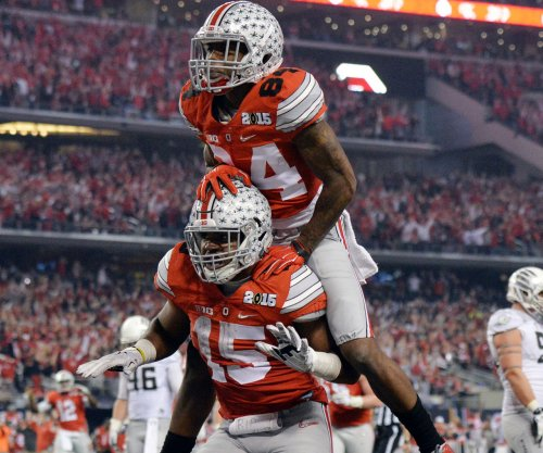 NFL Mock Draft: Titans, Jets, Falcons, Vikings, Broncos take Buckeyes in Round 1