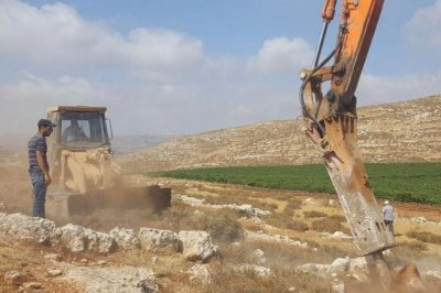 Building of new West Bank settlement begins