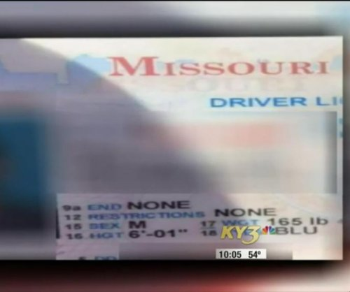 Missouri car thief may have left his wallet behind