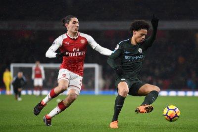 Manchester City's Leroy Sane destroys Arsenal