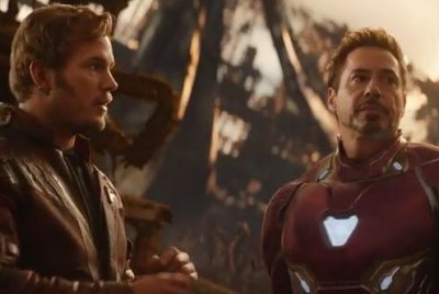 Tony Stark, Star-Lord talk strategy in 'Infinity War' trailer