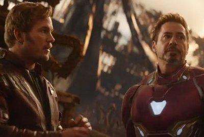 Tony Stark, Star-Lord talk strategy in 'Infinity War' trailer