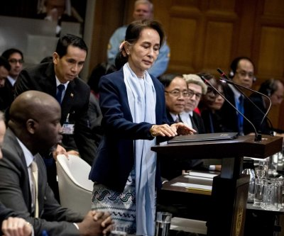 Myanmar leader Aung San Suu Kyi rejects genocide claims