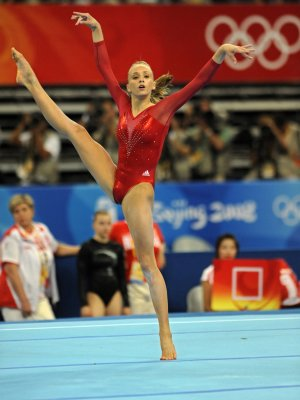 Romanian upstages American gym stars