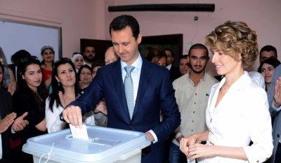 Syrian President Bashar al-Assad sworn in for third term amid bloody conflict