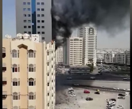 At least 19 injured in Sharjah high-rise fire