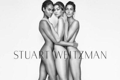 Gigi Hadid, Lily Aldridge, Joan Smalls go nude for ad campaign