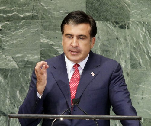Odessa, Ukraine, Gov. Saakashvili resigns, citing rampant corruption