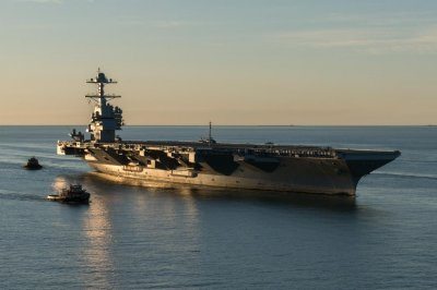Navy accepts delivery of USS Gerald R. Ford