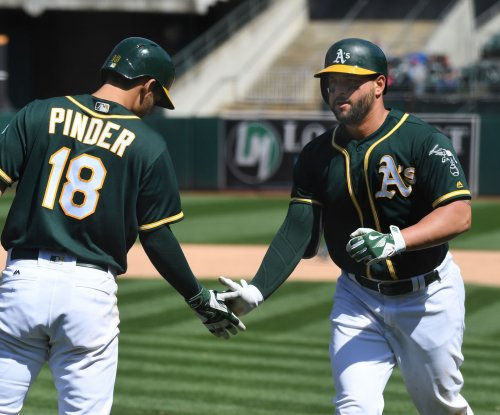 Seattle Mariners obtain All-Star 1B Yonder Alonso from Oakland Athletics in trade