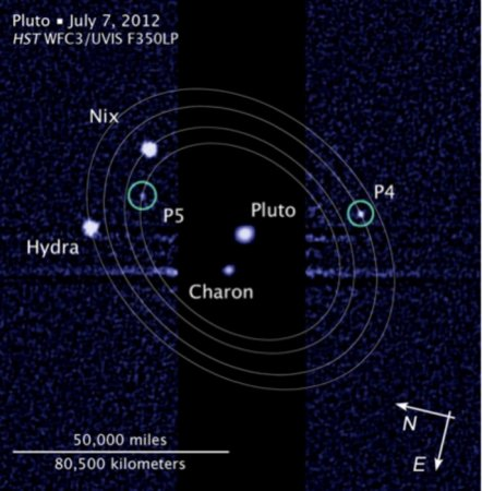 'Vulcan' wins Pluto moon name vote