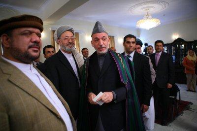 Karzai in control
