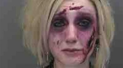 Woman arrested twice in one night for drunk driving, the first time in zombie makeup