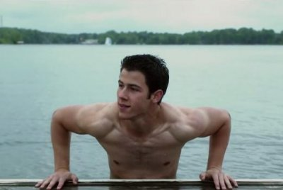 Nick Jonas strips down in 'Careful What You Wish For' trailer