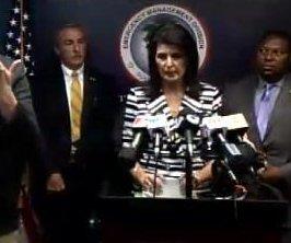 S.C. Gov. Nikki Haley calls for evacuation of 1.1M coastal residents ahead of Hurricane Matthew