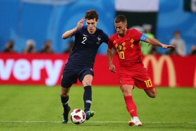 World Cup: France's Benjamin Pavard wins goal of the tournament