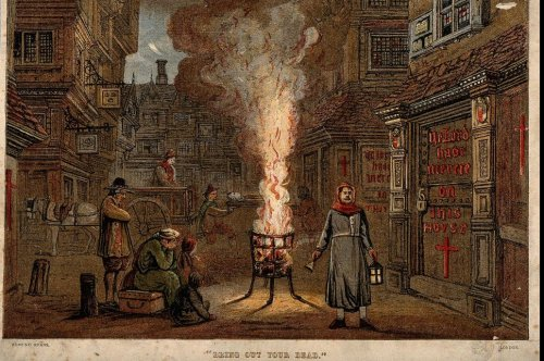 Plague transmission rates increased from the Black Death to the Great Plague