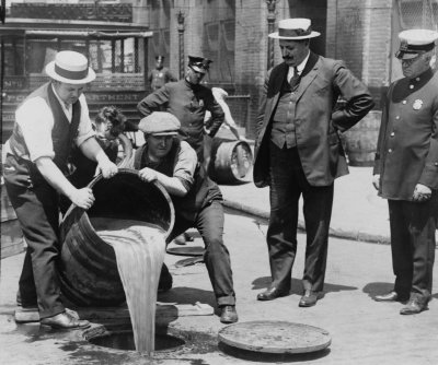 Nebraska is 36th to ratify, making Prohibition law