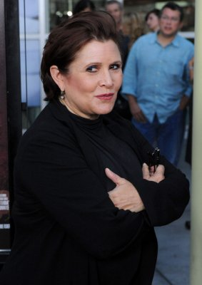 Carrie Fisher's daughter to star as a young Princess Leia in 'Star Wars: Episode VII'