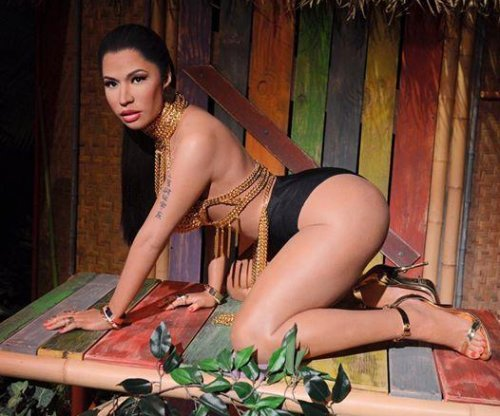 Nicki Minaj receives booty-centric 'Anaconda' wax statue