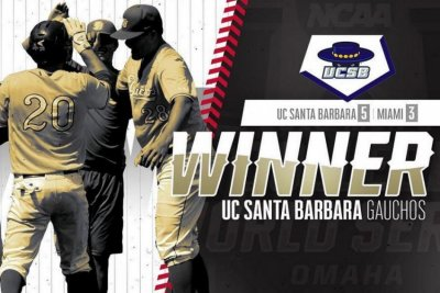 College World Series: Ryan Cumberland lifts UC Santa Barbara
