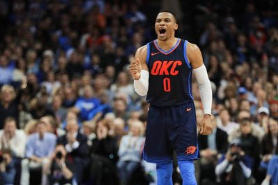 Russell Westbrook leads Oklahoma City Thunder over Houston Rockets