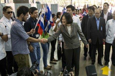 Tsai Ing-wen defends Taiwan sovereignty in heated debate